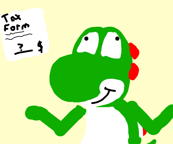 Yoshi doesn't understand how taxes work