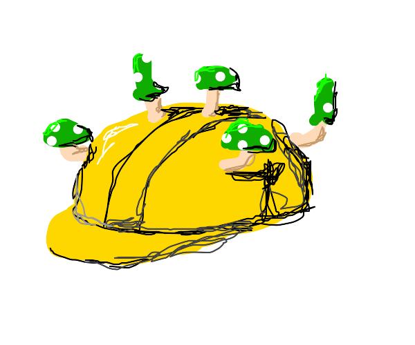 Hard-Hat Mushroom