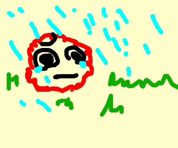 Meatwad is sad :(