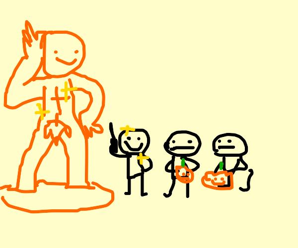 pumpkin sculpting