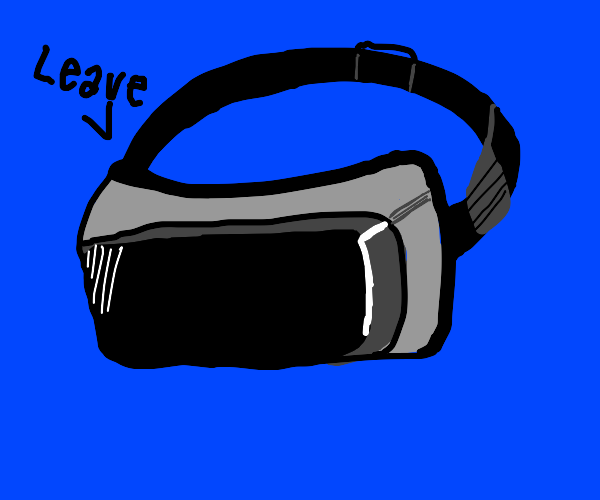 VR game asks if you want to leave