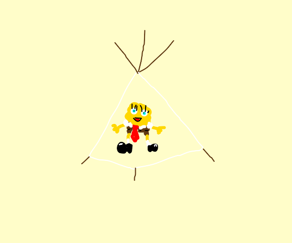 spongebob teepee