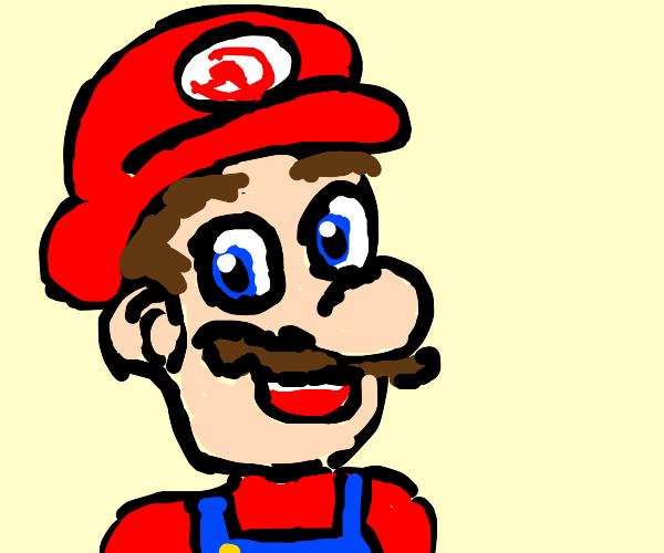 a communist Mario