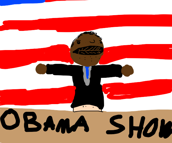 Black President is a Puppet