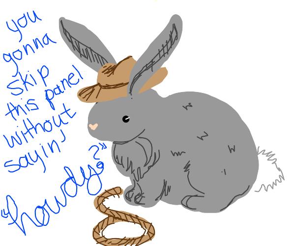 Cowboy Rabbit