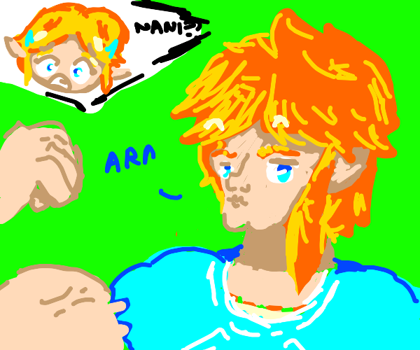 Link has gotten swole now