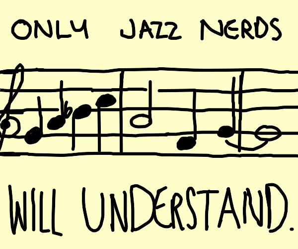 Something for Jazz Nerds !