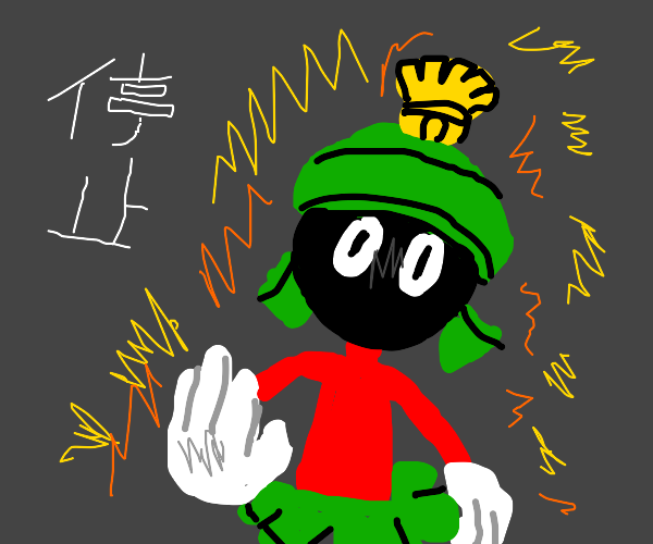 Marvin the Martian anime