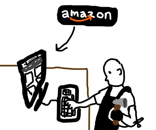 Blacksmith on Amazon