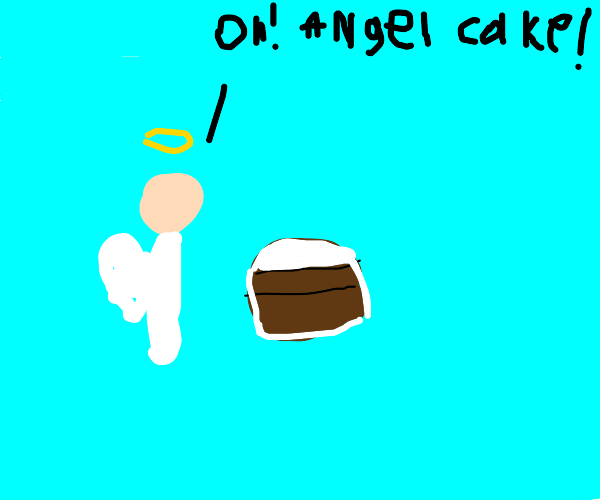 angel got cake call it angel cakes