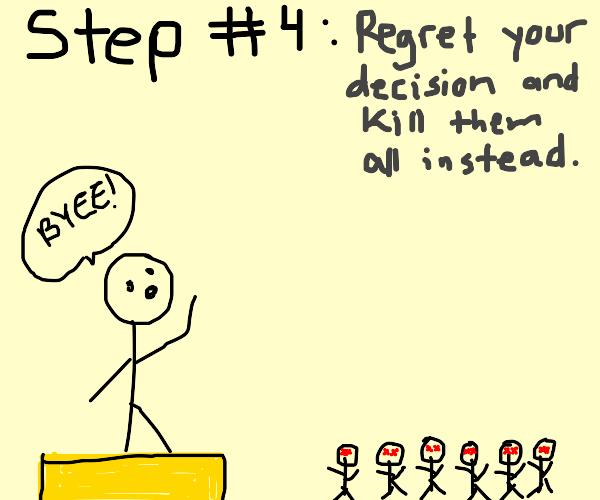step 3: turn friends into cthulu minions