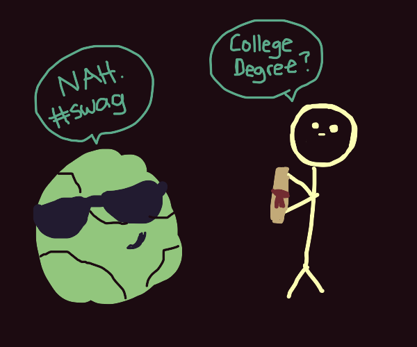 Cool cabbage is too cool for school