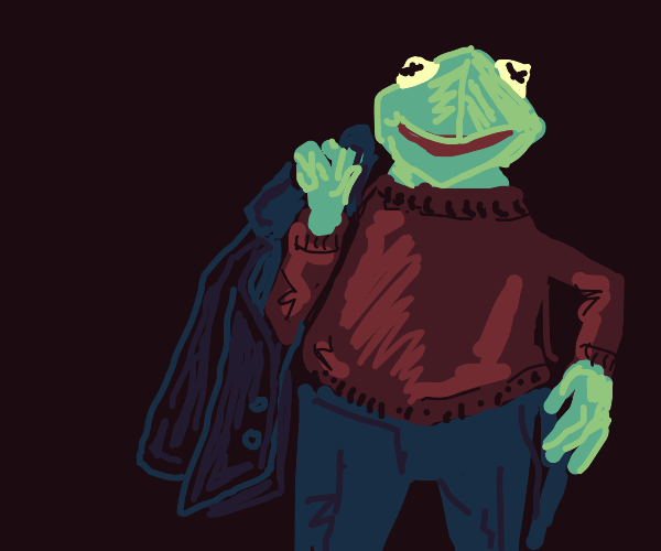 kermit with a dad bod