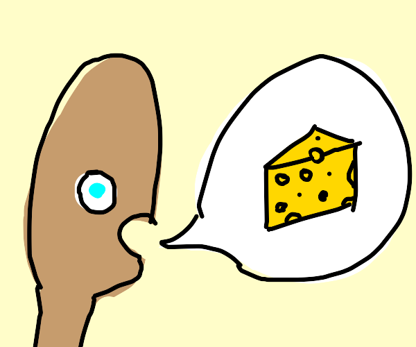 Man telling a cheesy joke