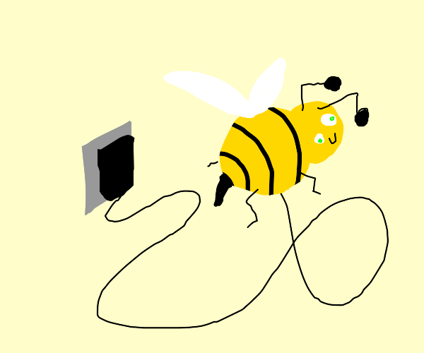 im charging my bee