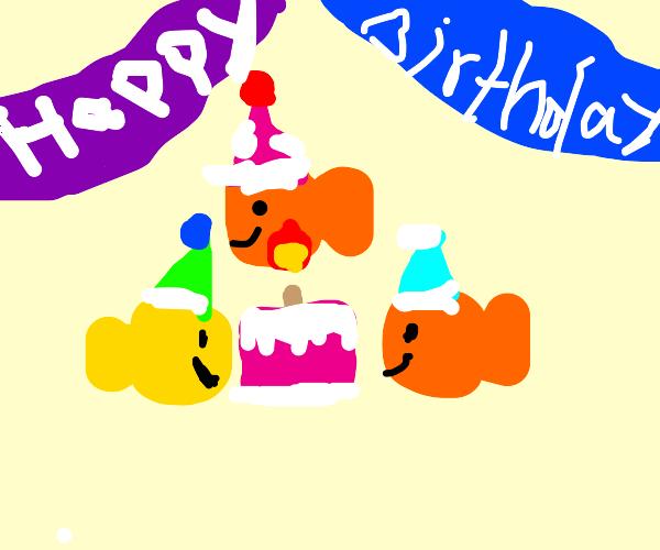 Goldfish Birthday Party!!!