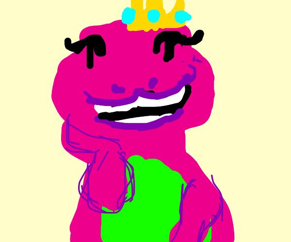 Barney is a princess