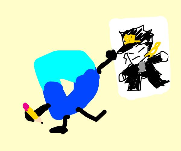 drawception draws jotaro