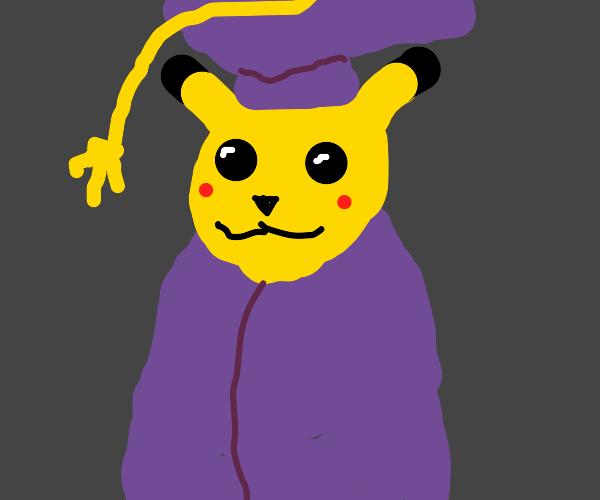 Graduate Pikachu