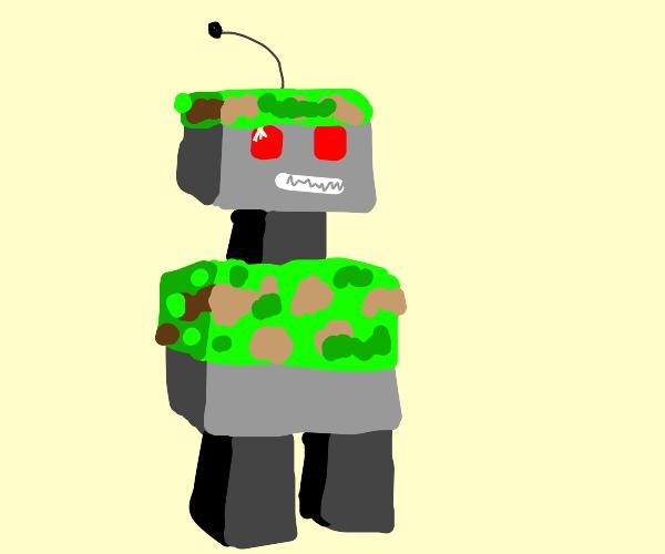 robot army man
