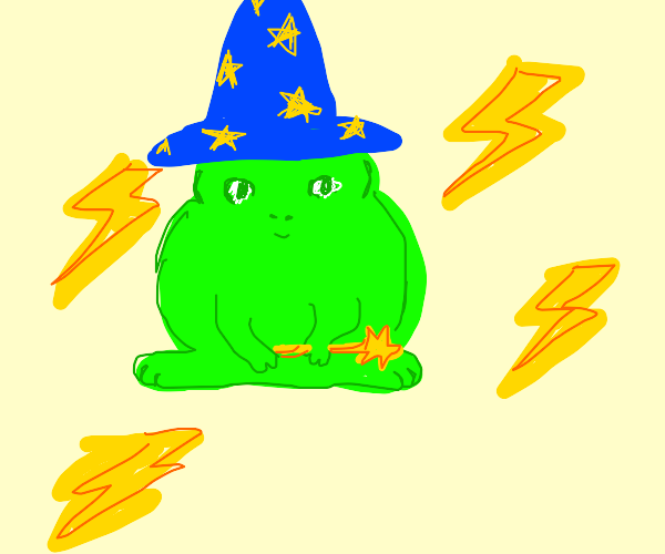 froggy wizard of lightning!!