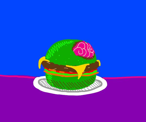Zhaombie hamburger