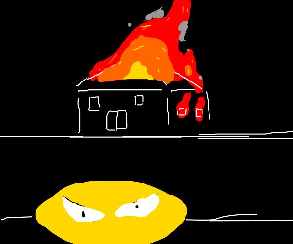 Arsonist lemon