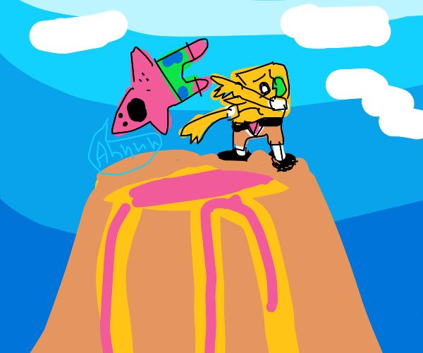 spongebob sacrifices patrick