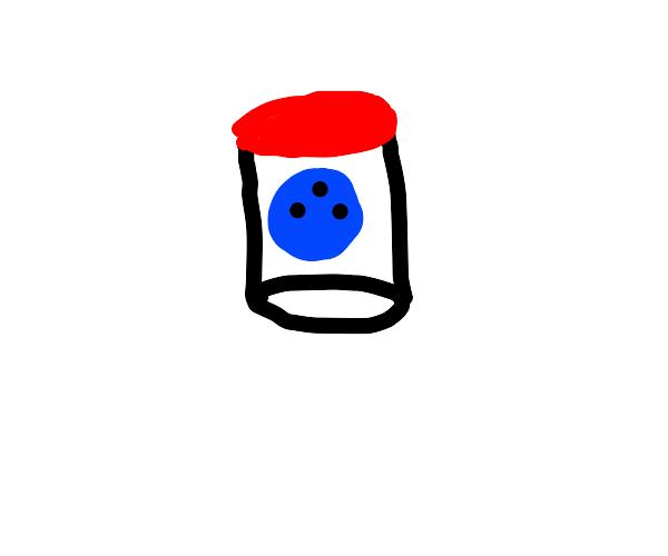 Bowling ball in a jar