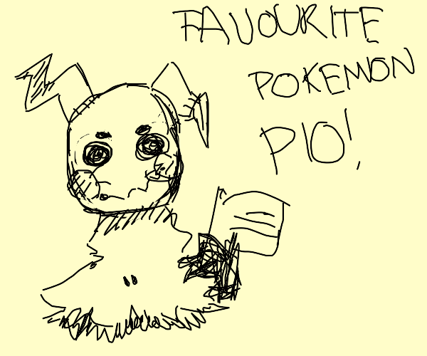 Your favourite pokemon (PIO)