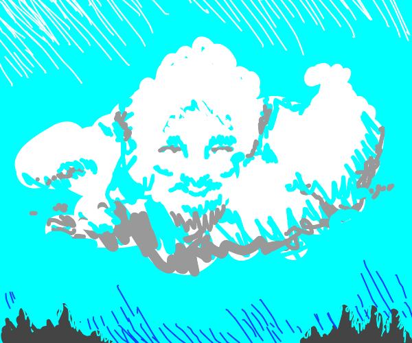 Bob Ross cloud