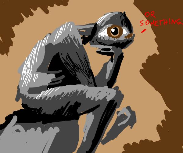 eye statue or something