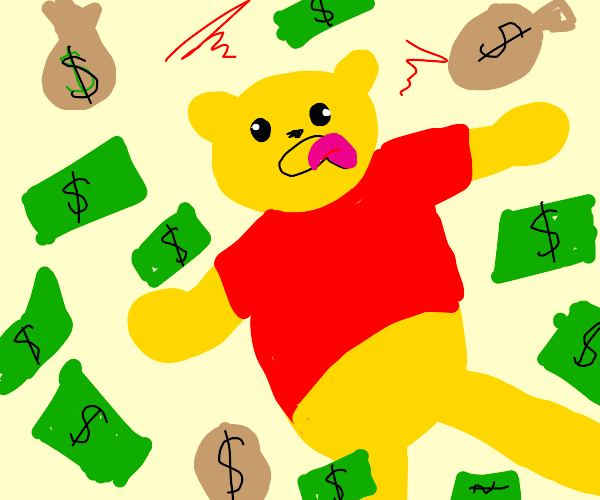 winnie the pooh literally stupid rich