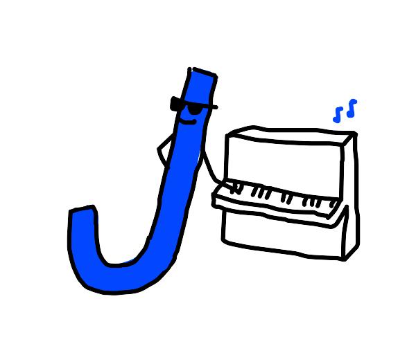 J CHILLIN nd playin da mf PIANO
