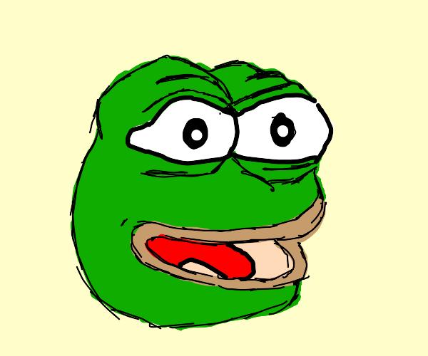 "Pepe the Frog: ""feels good man"""
