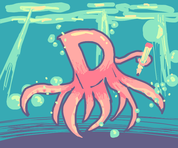 Drawception as an octopus