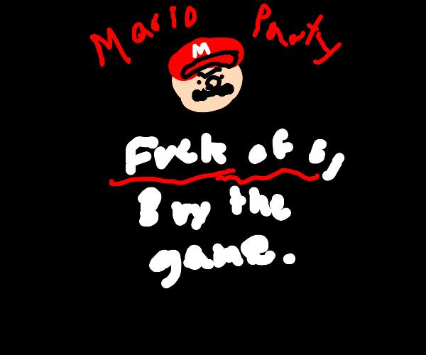 mario party piracy screen