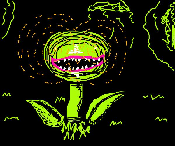 Evil demon flower casts a spell on u