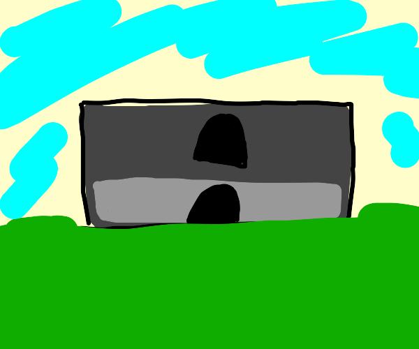 Cursed minecraft image
