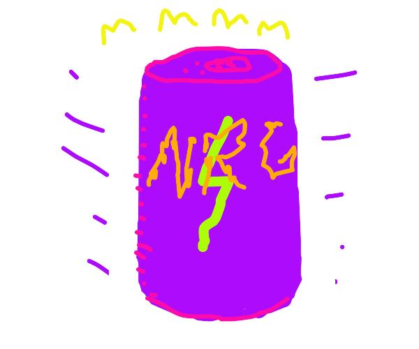 Purple Energy Drink