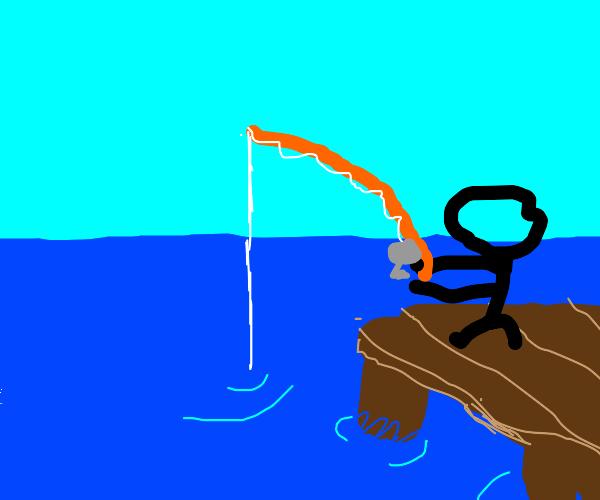 Fishing at the docks