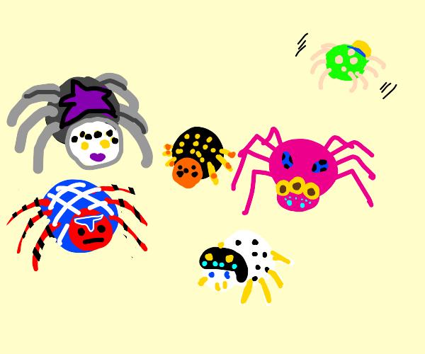 Mafia spiders