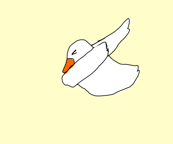 duck dabbing