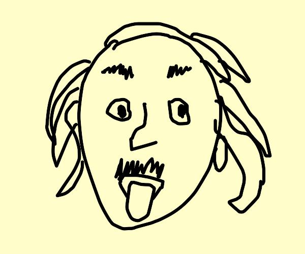 Einstein's famous photograph