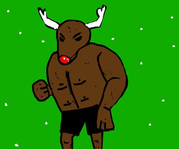 Swole Reindeer