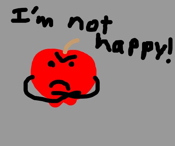 Unhappy Apple