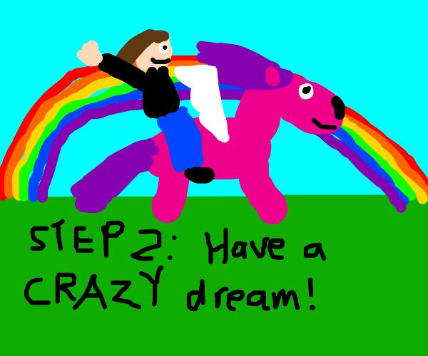Step 1: Go to Sleep