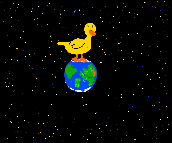 ducks take over the worl