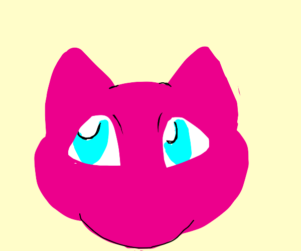 Mew (but just the head)
