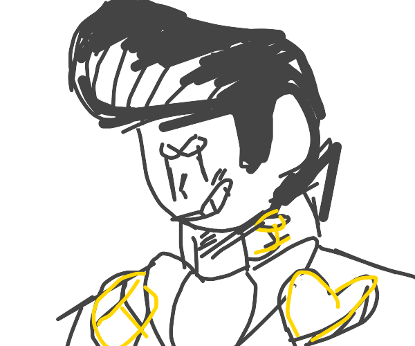 Not a jojo reference (ok it's josuke :c)